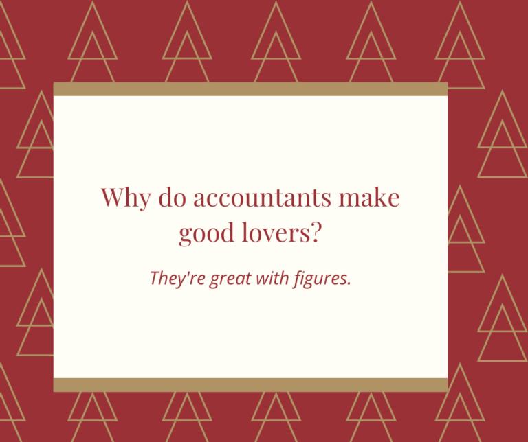 Accountant Lovers Christmas Joke