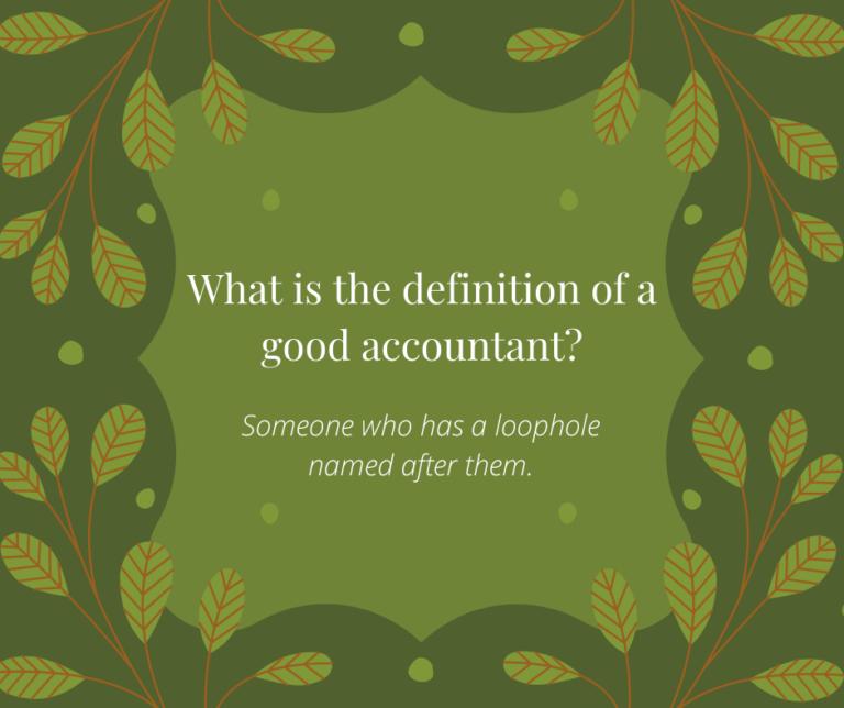 Good Accountant Christmas Joke
