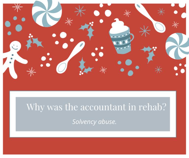 Accountant in Rehab Joke