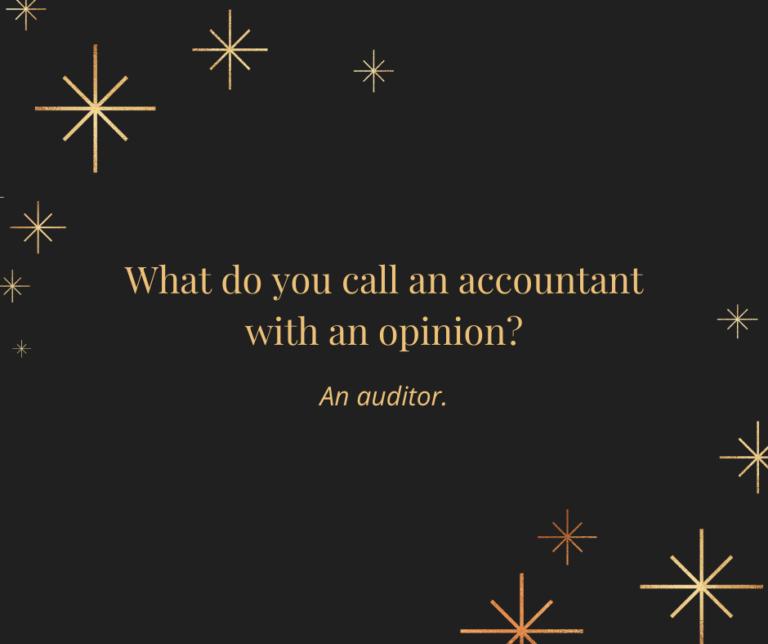 Account with Opinion Joke