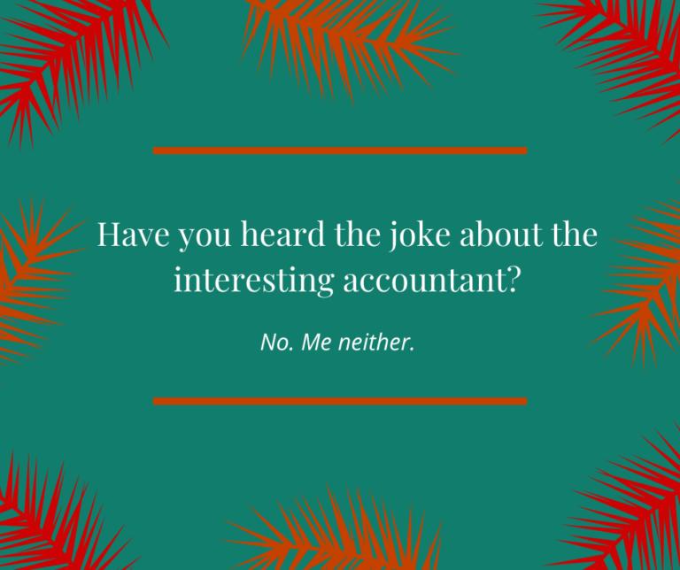 Interesting Accountant Joke