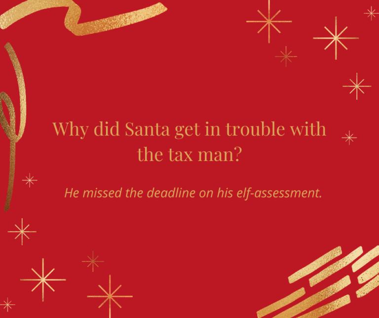 Elf-assessment accounting joke