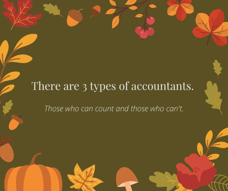 3 Types of Accountant Joke