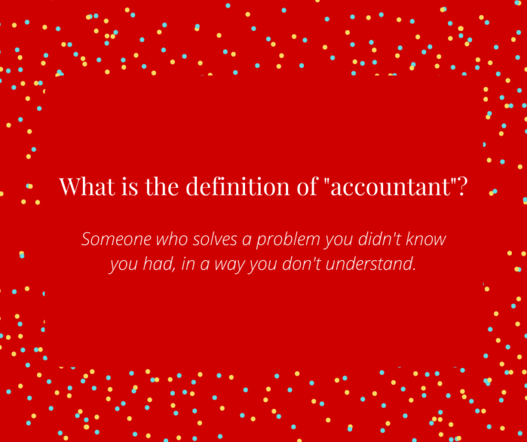 Accountant Definition Christmas Joke